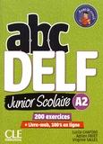 Lucile Chapiro et Adrien Payet - ABC DELF Junior scolaire A2. 1 DVD