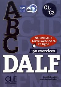 Isabelle Barrière et Marie-Louise Parizet - ABC DALF C1/C2. 1 CD audio MP3