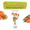 CLE international - Méthode de français pour les petits Clémentine - Cartes-images.