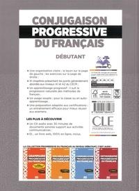 Conjugaison progressive du français A1 A2.1 débutant. Avec 250 exercices  avec 1 CD audio