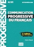 Claire Miquel - Communication progressive du français - Niveau intermédiaire A2 B1. 1 CD audio MP3