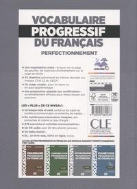 Vocabulaire progressif du français C1-C2 perfectionnement. Avec 675 exercices  avec 1 CD audio