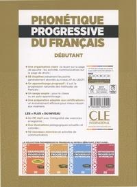 Phonétique progressive du français débutant A1 2e édition -  avec 1 CD audio MP3