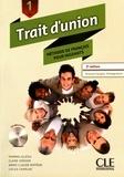 Thomas Iglésis et Claire Verdier - Trait d'union 1 - Méthode de français pour migrants. 1 CD audio MP3