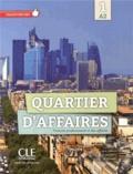 Mari Paz Rosillo et Patricia Maccotta - Quartier d'affaires 1 A2 - Français professionnel et des affaires. 1 DVD