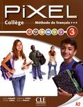 Sylvie Schmitt et Colette Gibbe - Méthode de français Pixel 3 A2 Collège. 1 DVD