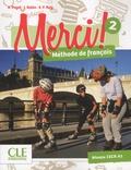 Adrien Payet et Isabelle Rubio - Merci ! 2 A1 - Méthode de français. 1 DVD
