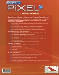 Méthode de français Nouveau Pixel 1 A1. Livre de l'élève  Edition 2016 -  avec 1 DVD