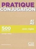Odile Grand-Clément - Pratique conjugaison A1/A2 - 500 exercices corrigés inclus.