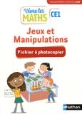 Jacqueline Jardy et Jacky Jardy - Jeux et manipulations CE1 Vivre les maths - Fichier à photocopier.