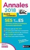 Sandrine Benasé-Rebeyrol et Béatrice Foussat - SES Tle ES spécifique & spécialité - Sujets & corrigés.