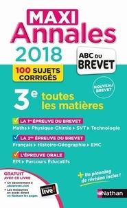 Carole Feugère et Gilles Mora - Maxi annales 3e - Sujets & corrigés.
