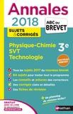 Nicolas Coppens - Physique-Chimie, Sciences de la Vie et de la Terre, Technologie 3e - Sujets & corrigés.