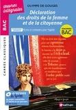 Olympe de Gouges - Déclaration des droits de la femme et de la citoyenne - Parcours associé : Ecrire et combattre pour l'égalité.