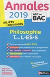 Gérard Durozoi - Philosophie Tle L-ES-S - Sujets & corrigés.