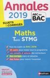 Michel Poncy et Denis Vieudrin - Mathématiques Tle STMG - Sujets & corrigés.