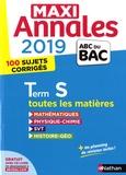 Dominique Besnard et Christian Lixi - Maxi Annales Tle S - 100 sujets corrigés.