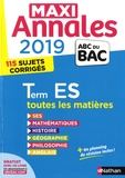 Sandrine Benasé-Rebeyrol et Christian Lixi - Maxi Annales Tle S.