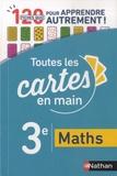 Julien Baque et Marie-Pierre Saulze - Maths 3e - 120 fiches quiz pour apprendre autrement !.