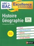 Servane Marzin et Frédéric Fouletier - Histoire-geographie 1re.