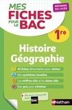Frédéric Fouletier et Pascal Jézéquel - Histoire Géographie 1re.