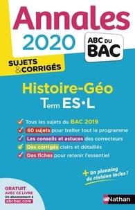 Cécile Vidil et Laetitia Benbassat - Histoire-géographie Tle ES-L - Sujets & corrigés.