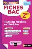 Marie Aillet et Anne Cassou-Noguès - Ma Compil Fiches Bac 2de.