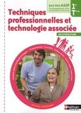 Blandine Savignac - Techniques professionnelles et technologie associée en structure Bac Pro ASSP 1e et Tle.