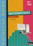 Jean-Luc Dianoux et Muriel Dorembus - Mathématiques Tle STMG - Programme 2013.