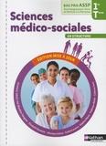 Blandine Savignac et Elisabeth Baumeier - Sciences médico-sociales en structure 1e Tle Bac Pro ASSP.