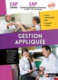 Ginette Kirchmeyer - Gestion appliquée CAP Cuisine CAP Commercialisation et services en Hotel - Café - Restaurant.