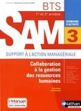 Madeleine Doussy - Domaine d'activité SAM 3 Collaboration à la gestion des ressources humaines BTS 1re et 2e années.