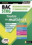 Jean-Louis Carnat et Jean-Luc Dianoux - Ressources humaines et communication Tle Bac STMG - Toutes les matières.