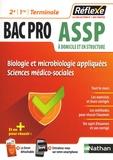 Blandine Savignac et Elisabeth Baumeier - Biologie et microbiologie appliquées Sciences médico-sociales Bac Pro ASSP 2de 1re Tle.