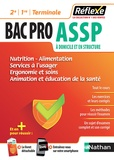 Blandine Savignac et Elisabeth Baumeier - Nutrition / Alimentation, Services à l'usager, Ergonomie- Soins, Animation, Education à la santé 2de 1re Tle Bac Pro ASSP.