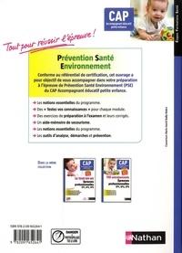 Prévention santé environnement CAP Accompagnant éducatif petite enfance. Préparation à l'épreuve  Edition 2019