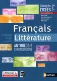 Cécile de Rousiers-Gonçalves et Christophe Desaintghislain - Francais littérature 2de, 1re - Anthologie littéraire.