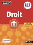 Laurence Garnier et Patrick Mercati - Droit BTS 2e année - Livre + licence élève en ligne.