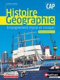 Carole Basile et Alain Brélivet - Histoire Géographie Enseignement moral et civique CAP Le monde en marche.