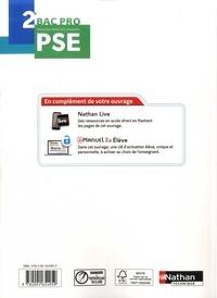 Prévention santé environnement 2de Bac Pro Acteurs de prévention. Avec une licence élève  Edition 2019