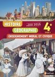 Sébastien Cote et Anne-Marie Hazard-Tourillon - Histoire Géographie Enseignement moral et civique 4e Cycle 4.