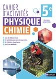 Nicolas Coppens et Frédéric Amauger - Physique chimie 5e - Cahier d'activités.