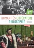 Marie-Hélène Laburthe-Tolra et Claire Laimé-Couturier - Humanités, littérature et philosophie 1re - Livre de l'élève.