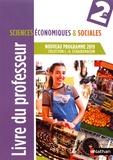 Claude-Danièle Echaudemaison - Sciences économiques & sociales 2de - Livre du professeur.