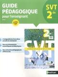 David Guillerme et Marc Jubault-Bregler - SVT 2de - Guide pédagogique.