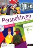 Claudine Decocqman - Allemand Tle Perspektiven B1/B2 - Programme 2012. 1 CD audio