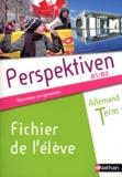 Claudine Decocqman et Séverine Le Bourg - Allemand Tle Perspektiven B1/B2 - Fichier de l'élève.