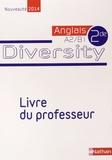 Corinne Escales - Anglais 2e A2/B1 Diversity - Livre du professeur.