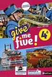 Hélène Adrian - Anglais 4e Cycle 4 A2-A2+ Give me five !.