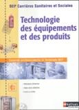 Mohieddine Boumahdi et Marie-Cécile Sénéchal - Technologie des équipements et des produits BEP Carrières sanitaires et sociales.